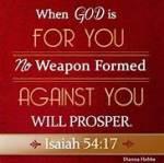 No wpn formed against you