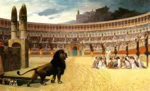 Lion and Christians - endurance