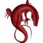 red lizard of sin