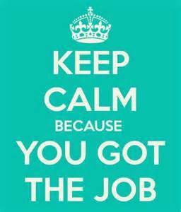 Keep Calm - Job