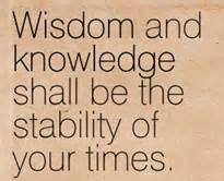 Wisdom fixed