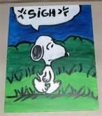 depressed Snoopy