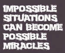 Impossible situations
