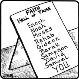 Faith's Hall of Fame